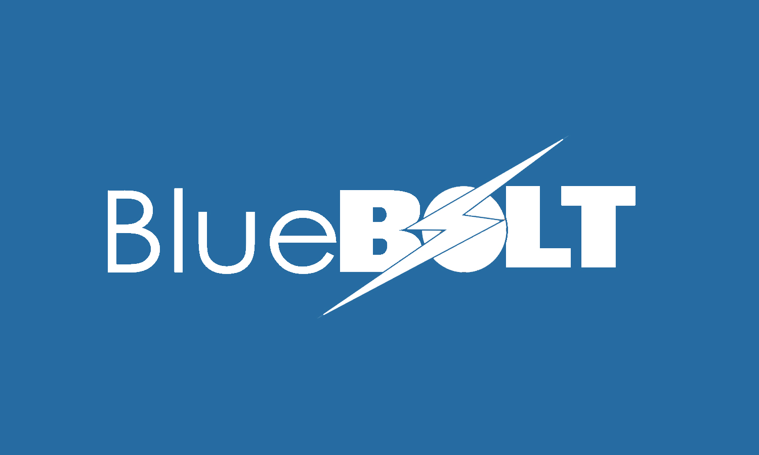 Blue Bolt Logo